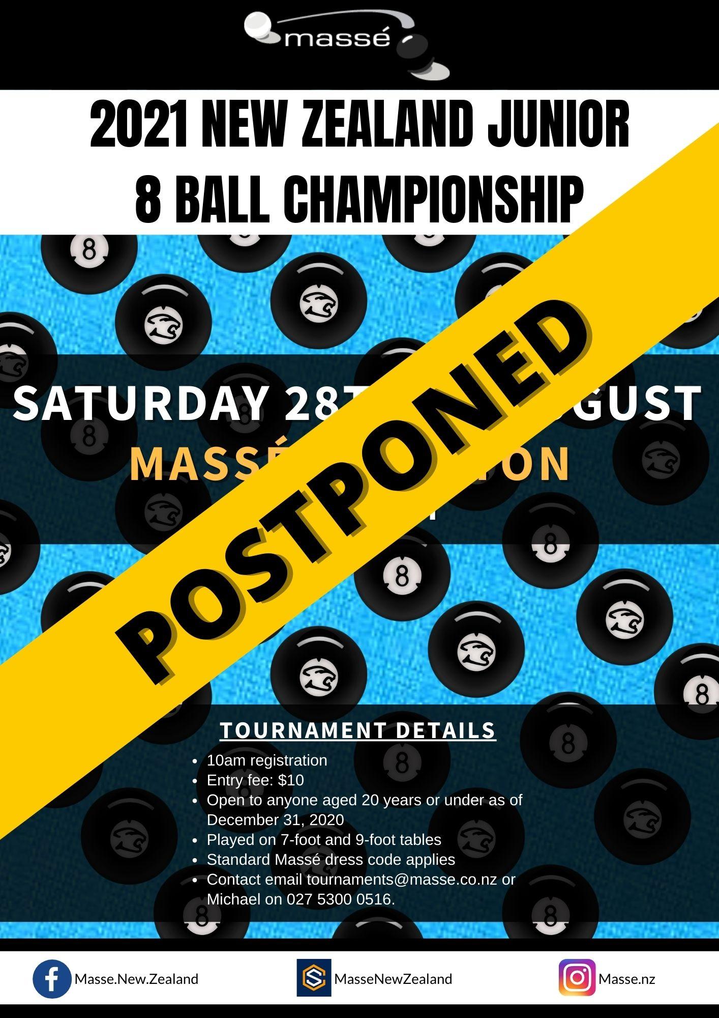 2021 NZ Open 8 Ball Championships